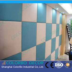 Sound Absorbing Fabric Acoustic Panel for Exhibition Hall pictures & photos