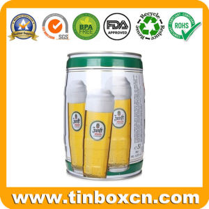 5L Metal Beer Keg for Food Tin Container pictures & photos