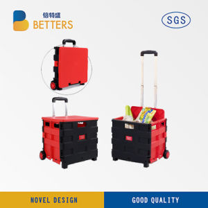 Betters Very Good Quality Portable Shopping Trolley pictures & photos