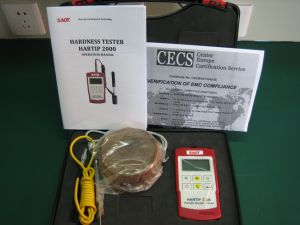Portable Leeb Hardness Tester with High Accuracy +/-2 Hld (HARTIP2000D/DL two-in-one probe) pictures & photos