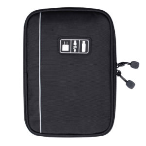 New Accessories Nylon Mens Travel USB Cable Organizer Bag for Electronic pictures & photos