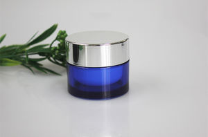 50g Round Shape Cosmetic Plastic Empty Cream Jar pictures & photos