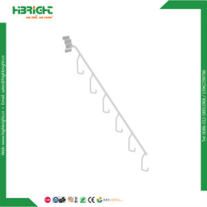 Retail Shop Powder Coated Slatwall Hanging Hooks pictures & photos