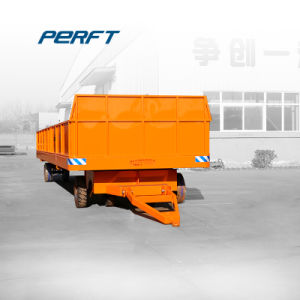 20 T Steel Table Workshop Trailer for Heavy Duty Transportation pictures & photos