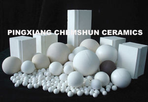 High Alumina Grinding Ball & Lining Brick for Ball Mill and Pebble Mill pictures & photos