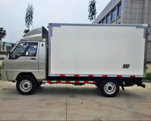 China dry truck box, Crago truck box, Cargo truck body pictures & photos