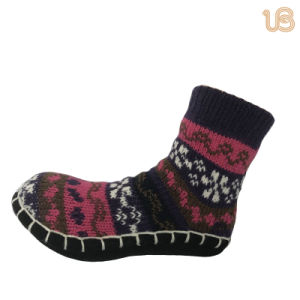 Children′s Anti Slip Home Sock pictures & photos