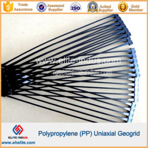 Plastic PP Polypropylene Uniaxial Ux-Oriented Geogrid pictures & photos