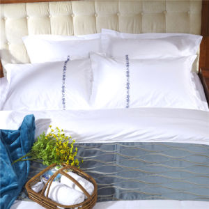 Cotton Plain Apartment China Wholesale Cotton Quilt Cover pictures & photos