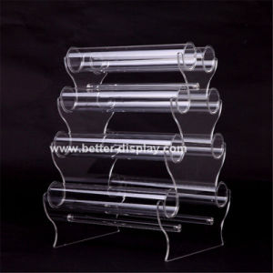 Clear Plexiglass Acrylic Bangle Holder pictures & photos