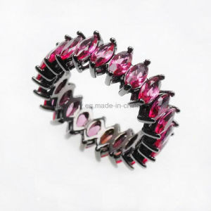 New Design Plated Jewelry Colorful CZ Finger Ring (KR3170) pictures & photos
