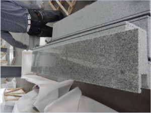 Bethel White Granite Stone Stairs Steps Treads Wall Tile Covering Slabs pictures & photos
