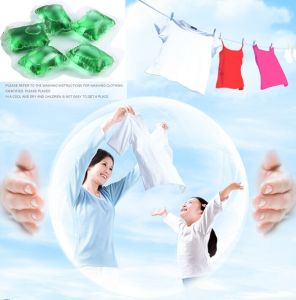 OEM&ODM Liquid Detergent & 3X Concentrated Laundry Liquid Detergent Pod, 20g Laundry Liquid Detergent Pod pictures & photos