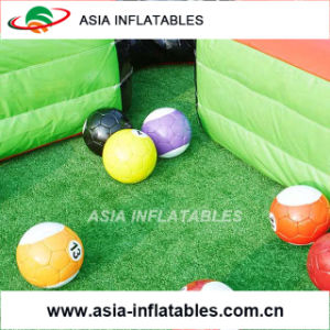 Inflatable Human Billiards, Football Billiards, Inflatable Table Snooker for Sale pictures & photos