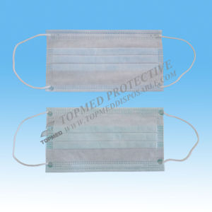 Nonwoven 1-Ply SMS Disposable Face Mask pictures & photos