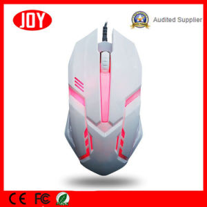 Breath LED Backlit Wired USB Computer Gaming Optical Mouse pictures & photos