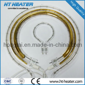 Quartz Infrared Heater with Golden Reflector pictures & photos