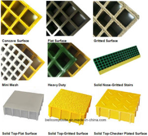 FRP/GRP Molded Grating/Walkway Grating /Fiberglass pictures & photos