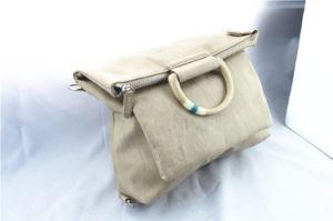 Portable Dual-Purpose Apricot Knapsack Handbag pictures & photos