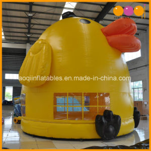 Community Children Toy Chicken Inflatable Moonwalk Chook Bouncer (AQ356) pictures & photos