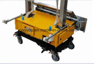 Automatic Indoor Cement Brick Block Wall Rendering Plastering Machine pictures & photos