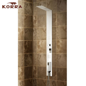 #304 8k Stainless Steel Panel in Mirror Finish Shower Column (K2607) pictures & photos