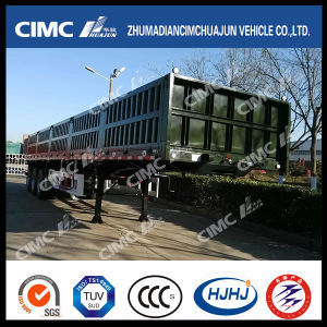 Cimc Huajun Popular Type Stake Cargo Truck Trailer in Africa pictures & photos