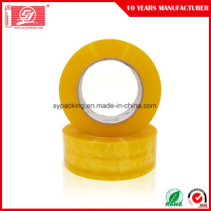 off Print Carton Seal Tapes Water Based Acrylic Adhesive Clear BOPP Packing Tapes pictures & photos