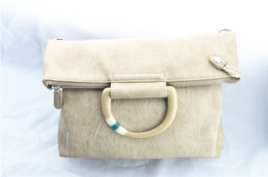Portable Dual-Purpose Apricot Knapsack Handbag pictures & photos