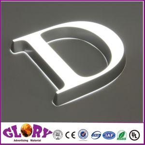 Custom Popular Resin Letters Outdoor LED Resin Sign pictures & photos