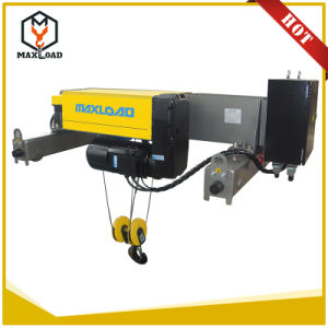 6.3 Ton Double Girder Wire Rope Electric Hoist (MLER6.3-06D) pictures & photos