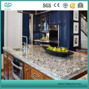 Tiger Skin White Kitchen Countertops/Kitchentops/Kitchen Island Tops/Kitchen Bar Top/Custom Bartop pictures & photos