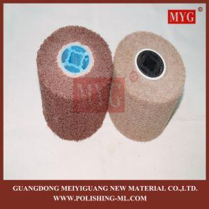 Fleece Non Woven Grinding Wheel pictures & photos