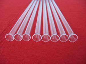 Hot Selling Processing Transparent Quartz Tube with Flange pictures & photos