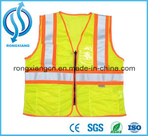 Fine Workmanship Men Women Reflective Safety Vest pictures & photos