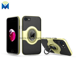 Shockproof Phone Case Back Cover with Ring and Magnetic Car Holder for iPhone 7 8 pictures & photos