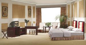 Simple Style MDF 3 Stars Hotel Bedroom Furniture (CF-309)