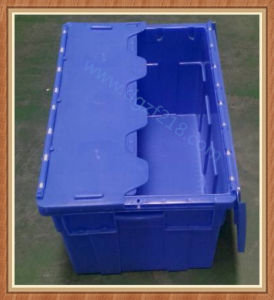 Customized Stackable Burglarproof Plastic Logistic Container with Lid for Storage