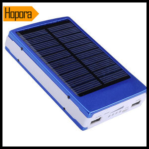 Cheap Solar Sun Mobile Cell Phone Charger Battery 30000mAh with USB Cable pictures & photos