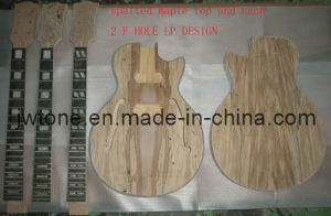 Double F Hole Holow Body Lp Electric Guitar Kit pictures & photos