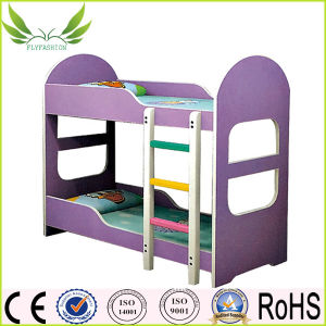 Home Furniture Colorful Wood Children Bunk Bed for Kindergarten (SF-87C) pictures & photos