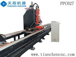 CNC Punching and Cutting Machine Line for Metal Plates (PPC027) pictures & photos