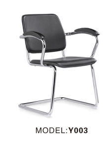 PU Office Meeting Chair with Chrome Steel Frame pictures & photos
