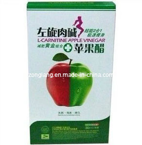 L-Carnitine Apple Vinegar Natural Slimming Soft Capsule (CS054-LAV)