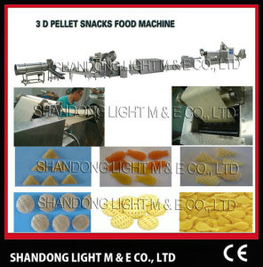 Extrusion Foodstuff Frying Processing Line (LT65, LT70, LT85) pictures & photos