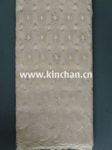 Fashion African Fabrics 100% Cotton Swiss Voile Lace (75043) pictures & photos