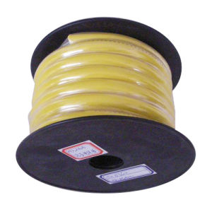 Transparent PVC Car Power Cable (Yellow) pictures & photos