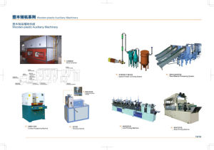 Wooden-Plastic Auxiliary Machinery