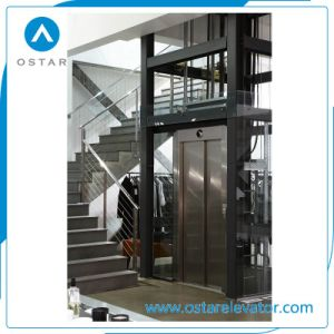 En81 Standard Full Glass Panoramic Villa Elevator Intalled at Home pictures & photos