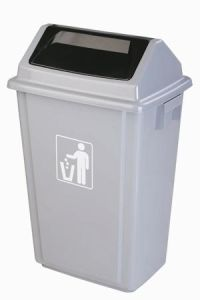 3# Turning Cover Garbage Bin A (GX-005A)